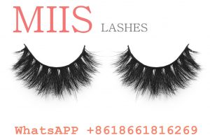 mink lashes with own custom