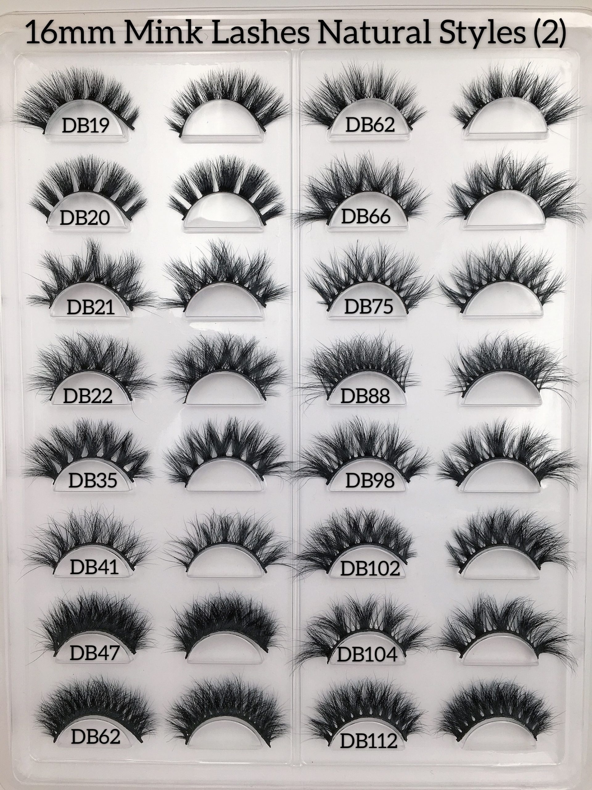 16mm Mink Lashes Style
